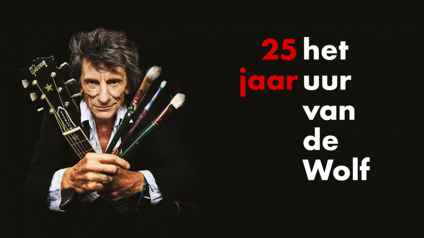 25 jaar HUvdW - Ronnie Wood: Somebody up there likes me